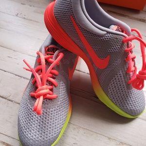 1489fa3feb9a8 Nike Shoes - Nike Revolution 4 Fade Hot Punch Volt Shoes NIB